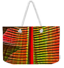 The Red Palm Weekender Tote Bag