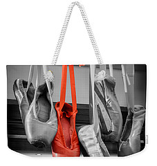 The Red Slipper Weekender Tote Bag