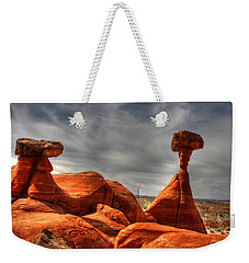 The Red Toadstool Hoo-doo Weekender Tote Bag