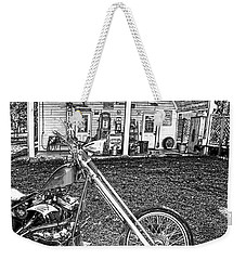 Weekender Tote Bag featuring the photograph The Rest   by Lesa Fine