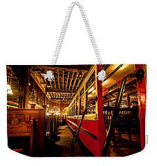 The Restaurant Trolley  Weekender Tote Bag by Steven Reed