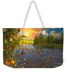 The Riches Of Life Weekender Tote Bag