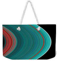 The Rings Of Saturn Weekender Tote Bag
