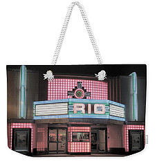 The Rio At Night Weekender Tote Bag