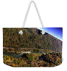 The River Below Weekender Tote Bag by Jonny D