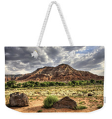 Weekender Tote Bag featuring the photograph The Road To Zion by Tammy Wetzel