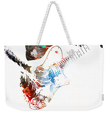 The Roll Of Rock  Weekender Tote Bag
