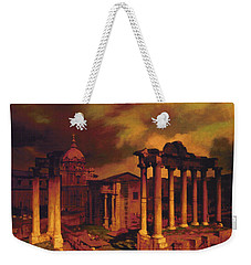 The Roman Forum Weekender Tote Bag by Blue Sky