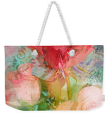 The Romance Of Roses Weekender Tote Bag by Carla Parris