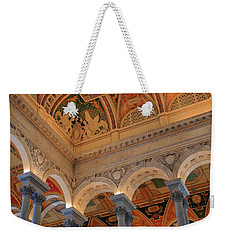 The Roof Above Jefferson's Books  Weekender Tote Bag