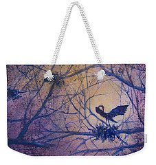 The Rookery Revisited Weekender Tote Bag