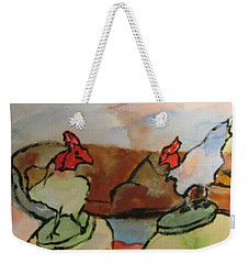 The Roosters Weekender Tote Bag