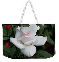 The Rose Weekender Tote Bag by James C Thomas