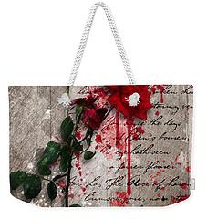 The Rose Of Sharon Weekender Tote Bag by Gary Bodnar