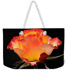Weekender Tote Bag featuring the photograph The Rose by Vivian Christopher