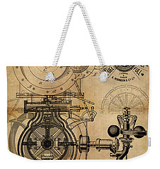 The Rotary Engine Weekender Tote Bag