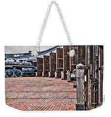 The Roundhouse Weekender Tote Bag by Keith Armstrong