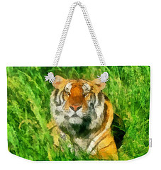 The Royal Bengal Tiger Weekender Tote Bag