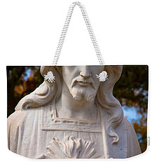 The Sacred Heart Weekender Tote Bag by Linda Unger