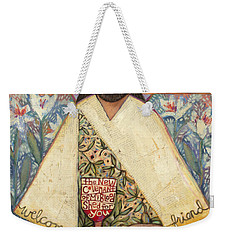 The Sacrifice Weekender Tote Bag