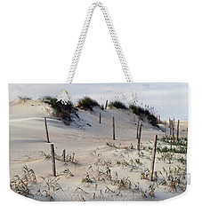 Weekender Tote Bag featuring the photograph The Sands Of Obx by Greg Reed
