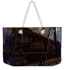 Weekender Tote Bag featuring the digital art The Santa Fe by Cathy Anderson