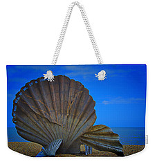 The Scallop Weekender Tote Bag