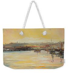 The Scarborough Harbour Weekender Tote Bag