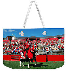 The Scarlet Knight And His Noble Steed Weekender Tote Bag
