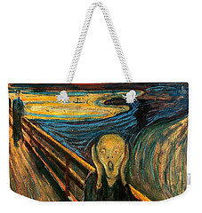 The Scream Edvard Munch 1893                    Weekender Tote Bag