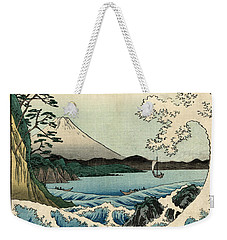 The Sea At Satta In Suruga Province Weekender Tote Bag