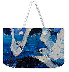 The Seagulls Weekender Tote Bag