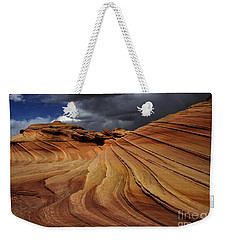 The Second Wave Weekender Tote Bag by Vivian Christopher