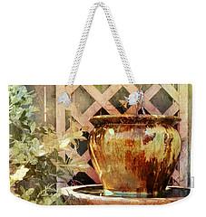 The Secret Fountain Weekender Tote Bag