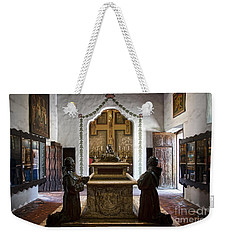 The Serra Cenotaph In Carmel Mission Weekender Tote Bag by RicardMN Photography