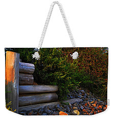 Weekender Tote Bag featuring the photograph The Shadows Of The Sun  by Naomi Burgess