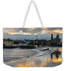 Weekender Tote Bag featuring the photograph The Shannon River by Brenda Brown