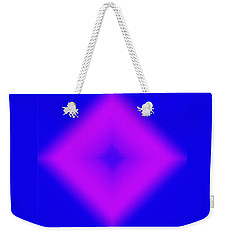 Shape Of Attraction Weekender Tote Bag