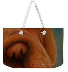 The Shar-pei  Weekender Tote Bag by Jean Cormier