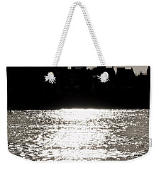 The Shard From Canary Wharf Weekender Tote Bag by Jasna Buncic