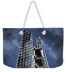 The Shards Of The Shard Weekender Tote Bag by Rona Black