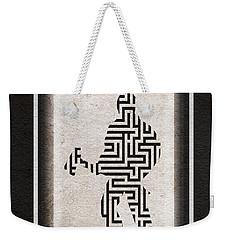 The Shining Weekender Tote Bag by Ayse Deniz