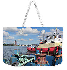 The Shipyard Weekender Tote Bag