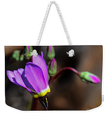 The Shooting Star Wildflower Weekender Tote Bag