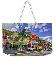 The Shops Of Cozumel Weekender Tote Bag