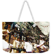 The Silver Factory / 231 East 47th Street Weekender Tote Bag by Elizabeth McTaggart