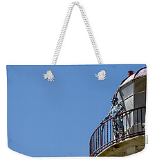 The Silver Man Weekender Tote Bag by Spikey Mouse Photography