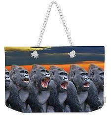 The Singing Gorillas Weekender Tote Bag