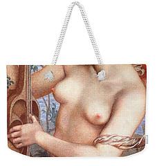The Siren Weekender Tote Bag by Dante Charles Gabriel Rossetti