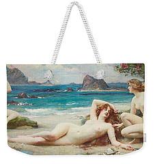 The Sirens Weekender Tote Bag by Henrietta Rae